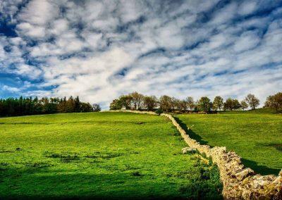 Near Milnthorpe in Cumbria