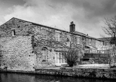 Old house on the canal